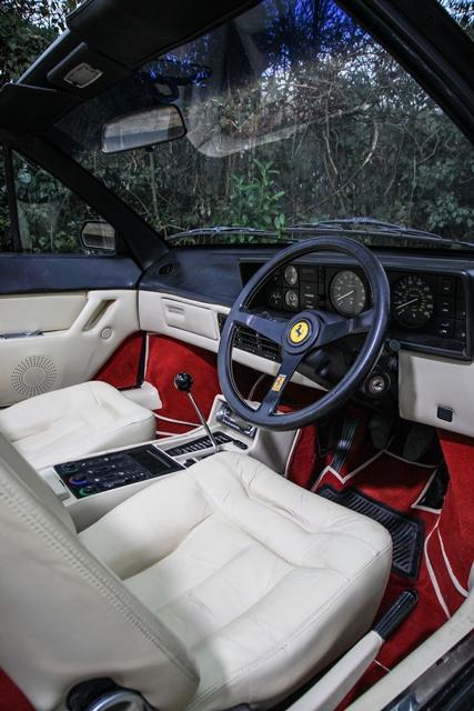 historics at brooklands specialist classic and sports car auctioneers ref 86 1985 ferrari. Black Bedroom Furniture Sets. Home Design Ideas
